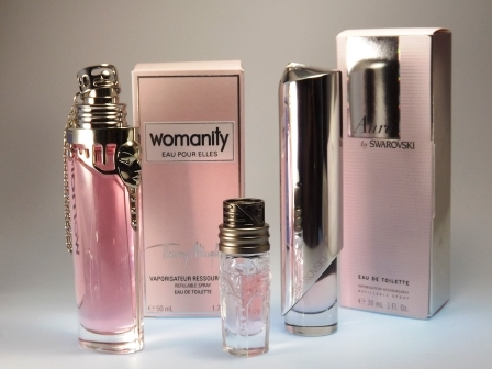 Womanity EAU POUR ELLES, Womanity & Aura by SWAROVSKI