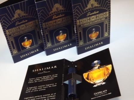 Duftproben von Shalimar