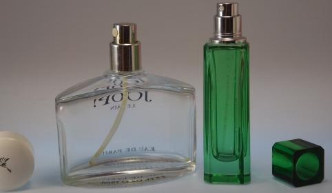 Kapillarwirkung lässt Parfüm verflüchtigen