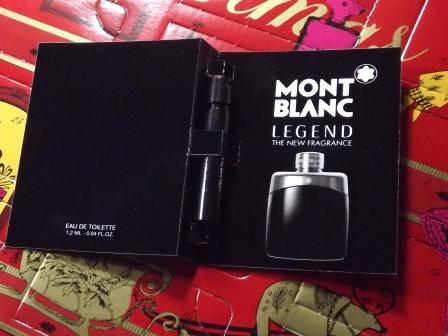 Eau de Toilette Legend Mont Blanc