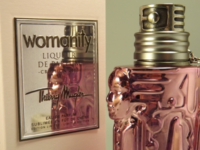 Womanity Liqueur de Parfum in subtilem Flakon