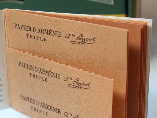 Papier D'Armenie Triple Buch