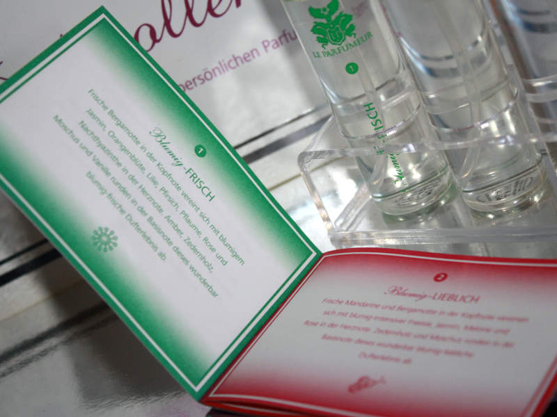 Parfüm Layering mit Duftkollektion LE PARFUMEUR