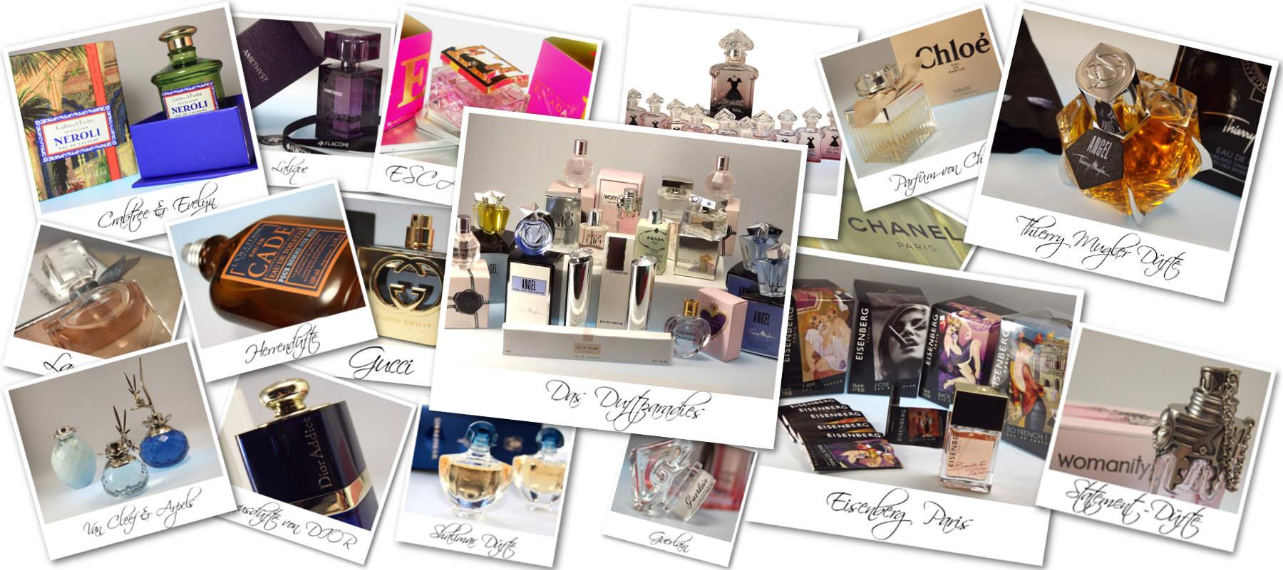 Das Duftparadies - Parfüms, Düfte, Duftbeschreibung