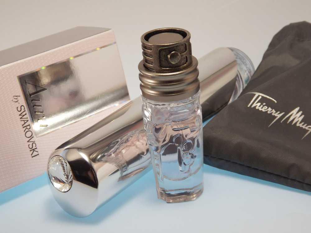 Aura by SWAROVSKI EdT und Womanity Parfüm von Thierry Mugler