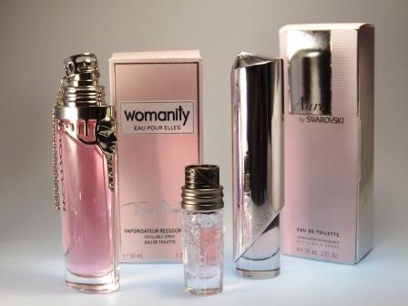Womanity EAU POUR ELLES, Womanity & Aura by SWAROVSKI