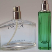 Parfüm leer: Kapillarwirkung lässt Parfüm verflüchtigen