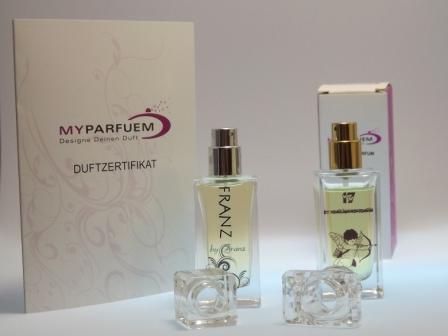 Individuelle Parfüms von MyParfuem