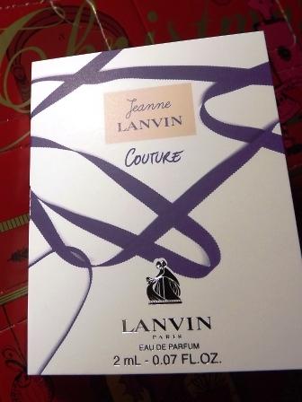 Couture EDP von Jeanne LANVIN