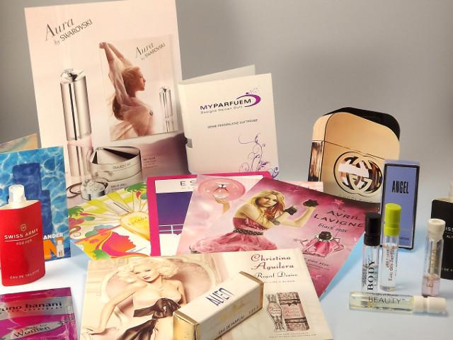 Gratis Parfümprobe zum Kennenlernen neuer Düfte