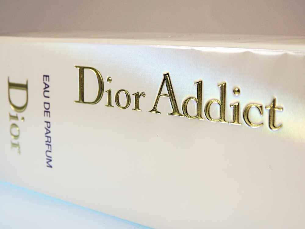 Kartonage von Dior Duft Addict EdP