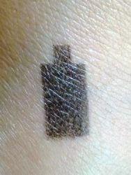Duftprobe als Tattoo