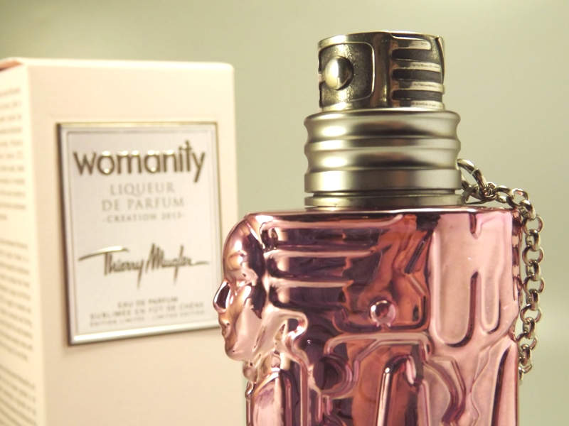 Thierry Mugler Womanity Liqueur de Parfum Creation 2013