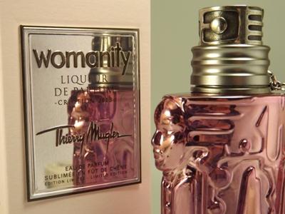 Womanity Liqueur de Parfum in subtilem Flakon