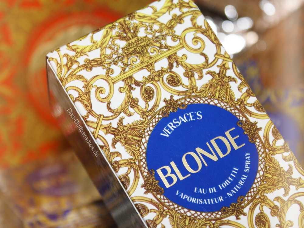 Versace Blonde EdT Vintage Parfüm im Liegeflakon