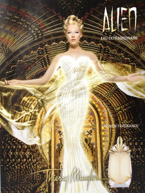 Thierry Mugler Kampagne Alien Eau Extraordinaire2014