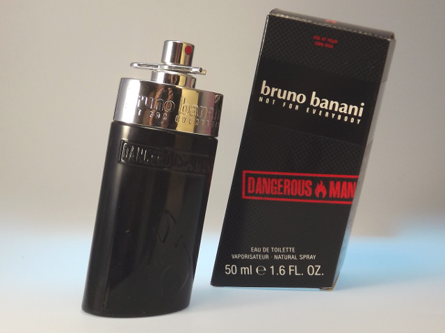 bruno banani Dangerous Man Eau de Toilette EdT 50 ml