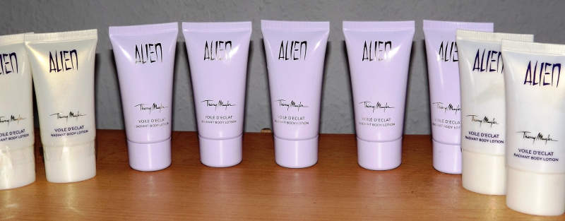 Alien Parfüm Body Lotion ohne Schimmer