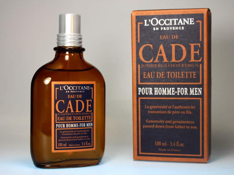 Herrenparfüm CADE von Loccitane - einer der würzigen Herrendüfte