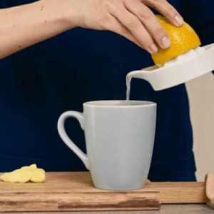 Ingwer & Zitrone als Tee
