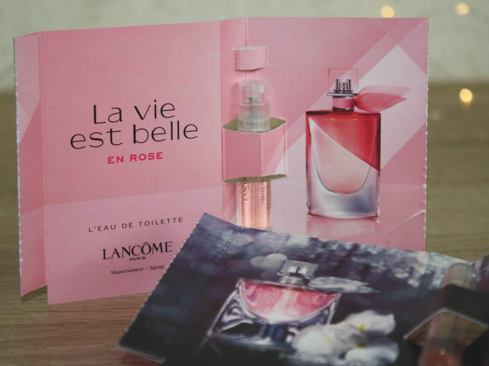 Duftprobe La vie est belle en rose Lancome