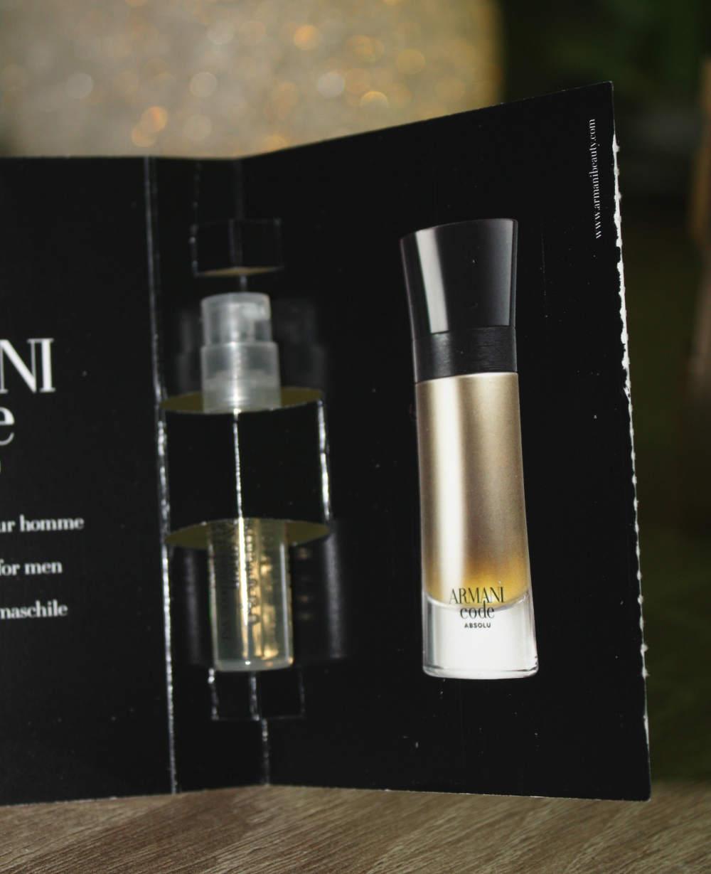 Herrenparfüm Armani Code Absolu EdP Parfümprobe