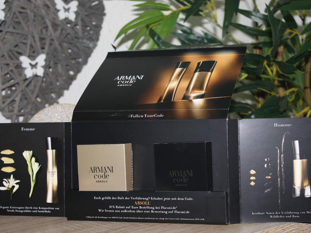 Armani Code Absolue femme & homme
