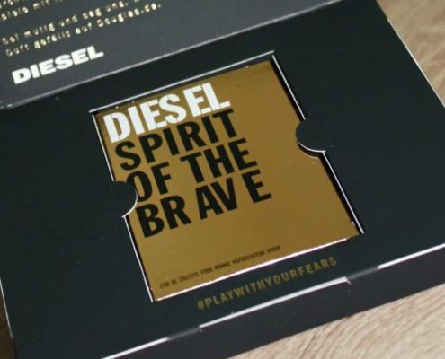 Duftbeschreibung von Diesel Spirit of the Brave Duftprobe