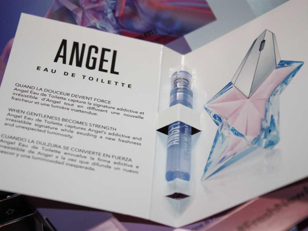 Mugler Angel EdT 2019 Kärtchen mit Duftprobe