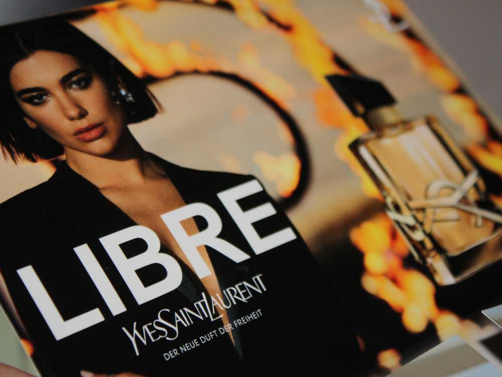 Eau de Parfum Yves Saint Laurent Libre Eau de Parfum - Werbegesicht Dua Lipa