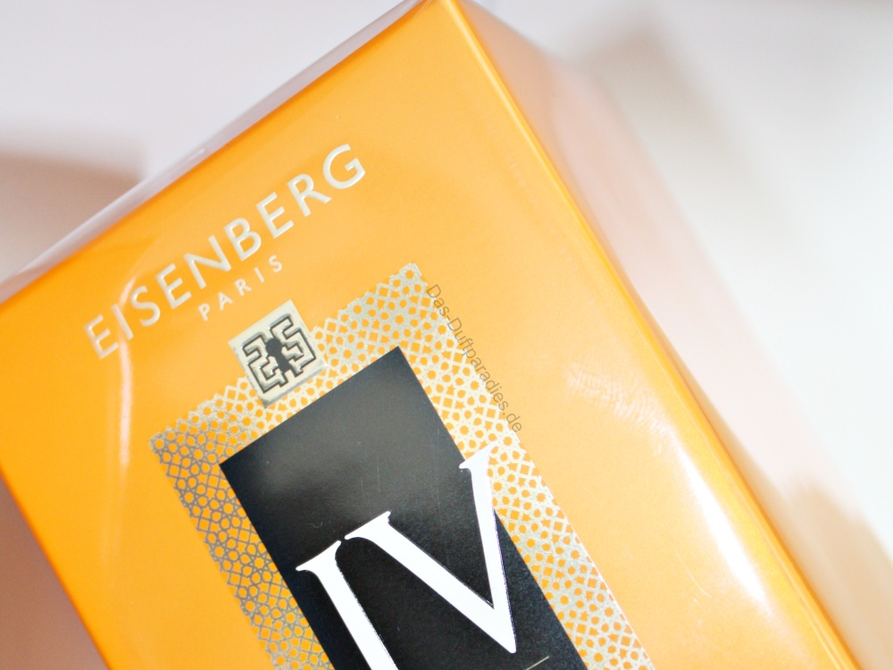 Parfüm Eisenberg SECRET RITUEL DORIENT EdP Kartonage
