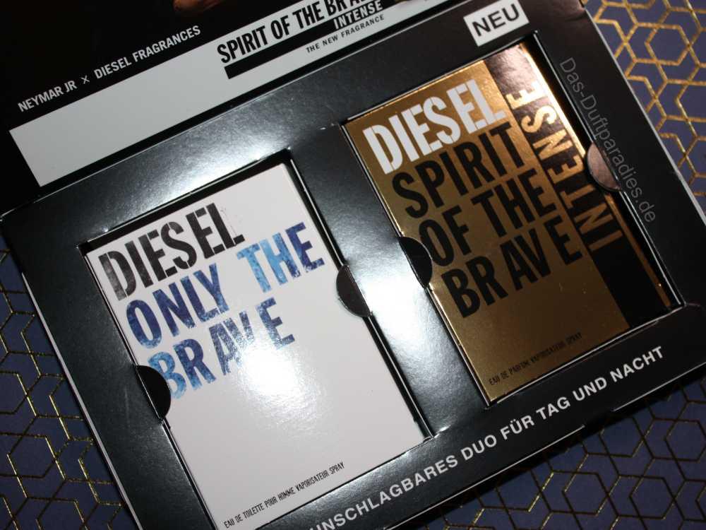 Diesel Parfüm - zwei Herrendüfte im Vergleich