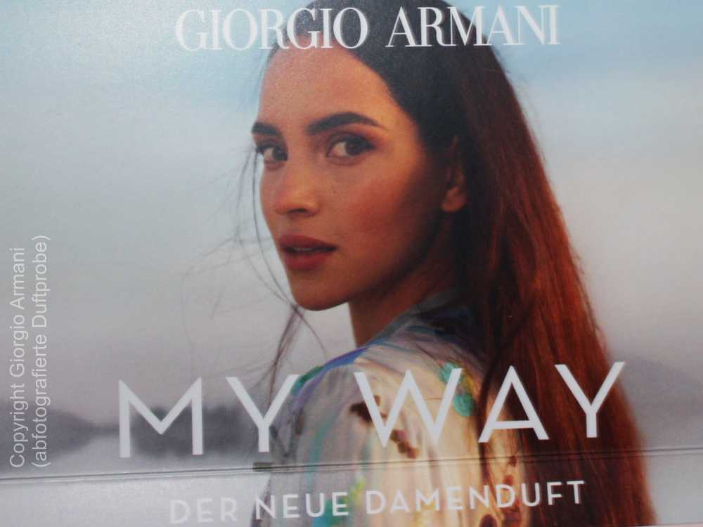 Giorgio Armani Werbegesicht Adria Arjona für das Damenparfüm My Way
