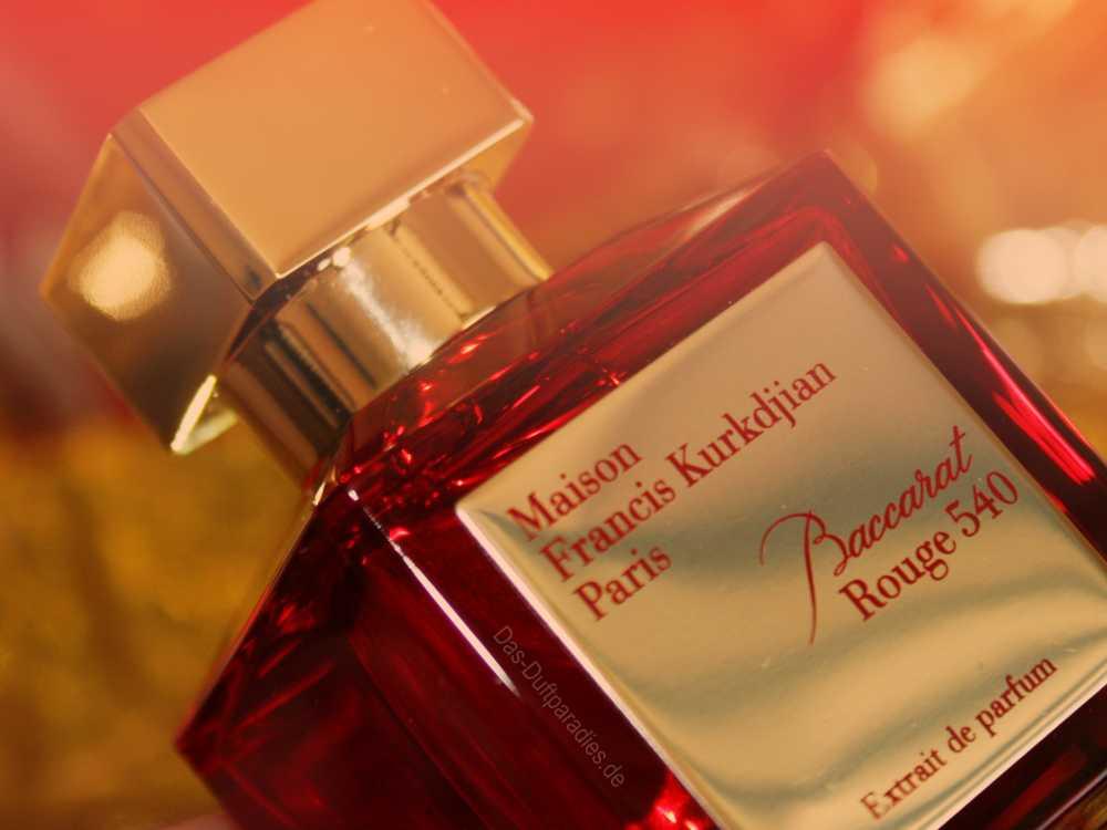 Baccarat Rouge 540 Parfüm ist ein Unisexduft