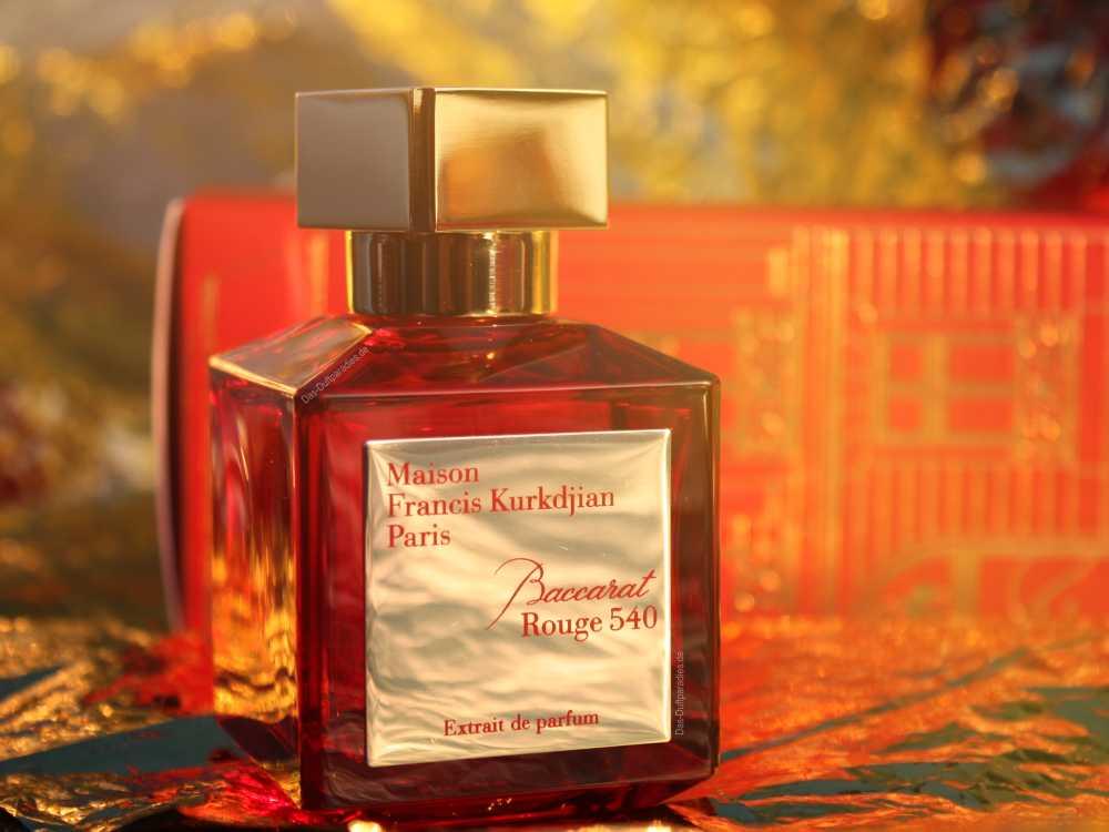 MFK Baccarat Rouge Extrakt Parfum mit der Duftnote Safran