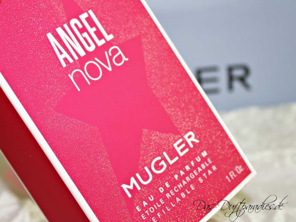 Mugler Angel Nova Eau de Parfum 30 ml - Kartonage in roter Farbe