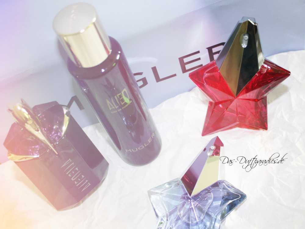 Thierry Mugler Parfum neu gekauft - Alien, Angel & Angel Nova
