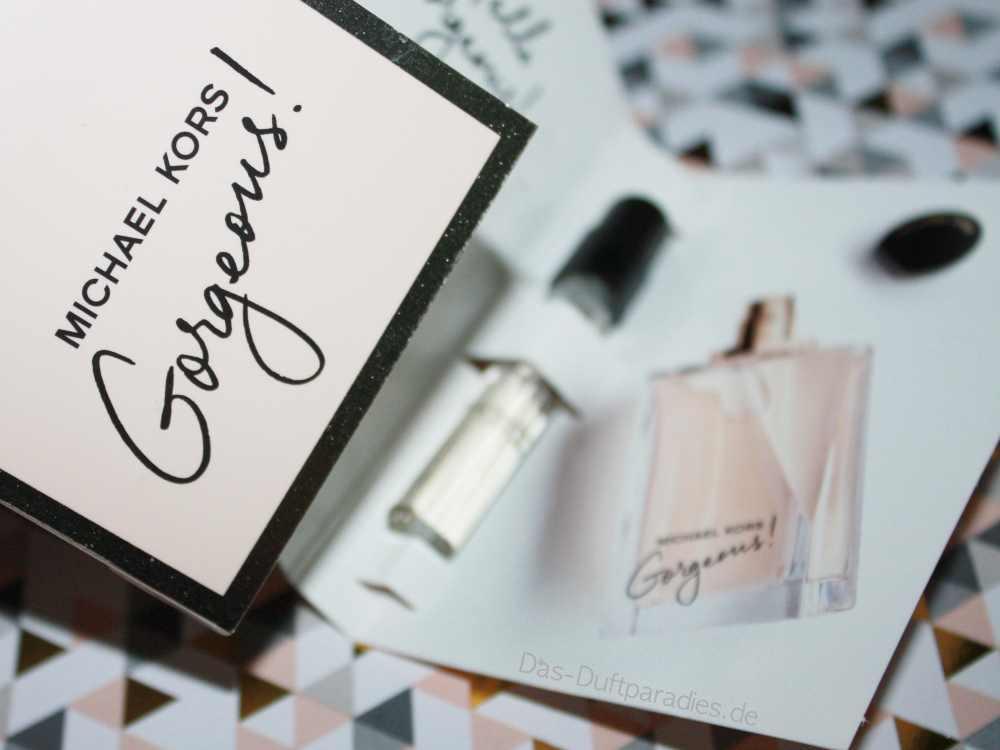 Michael Kors Gorgeous Eau de Parfum Duftbeschreibung hier lesen