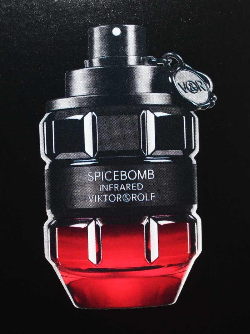 Viktor&Rolf Spicebomb Infrared Eau de Toilette Foto von Parfümflakon