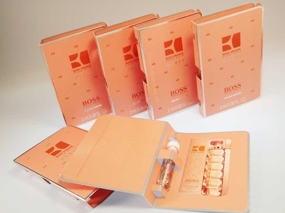 Hugo Boss Damenparfüm - Parfümprobe von Boss Orange EdP
