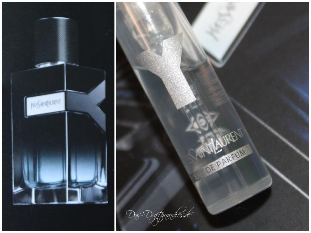 YSL Y EdP Herrenparfüm Parfümprobe & Duftbeschreibung