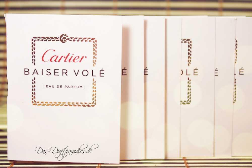Damenparfüm Cartier Baiser Vole EdP Parfümprobe