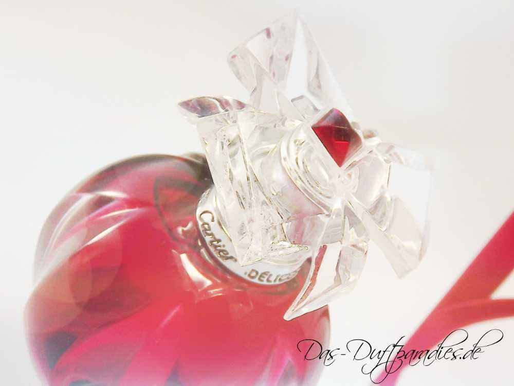 Cartier Delicious Parfüm - in außergewöhnlichem Flakon