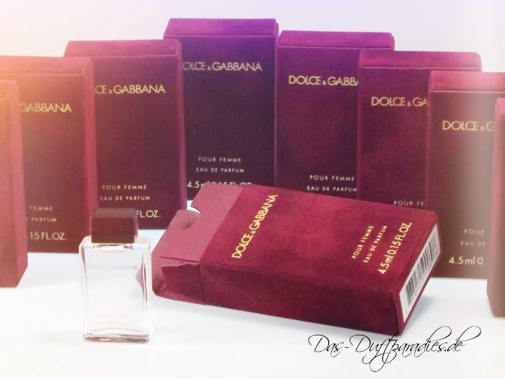 Elegantes Parfüm für Frauen: Doce & Gabbana Damenparfüm