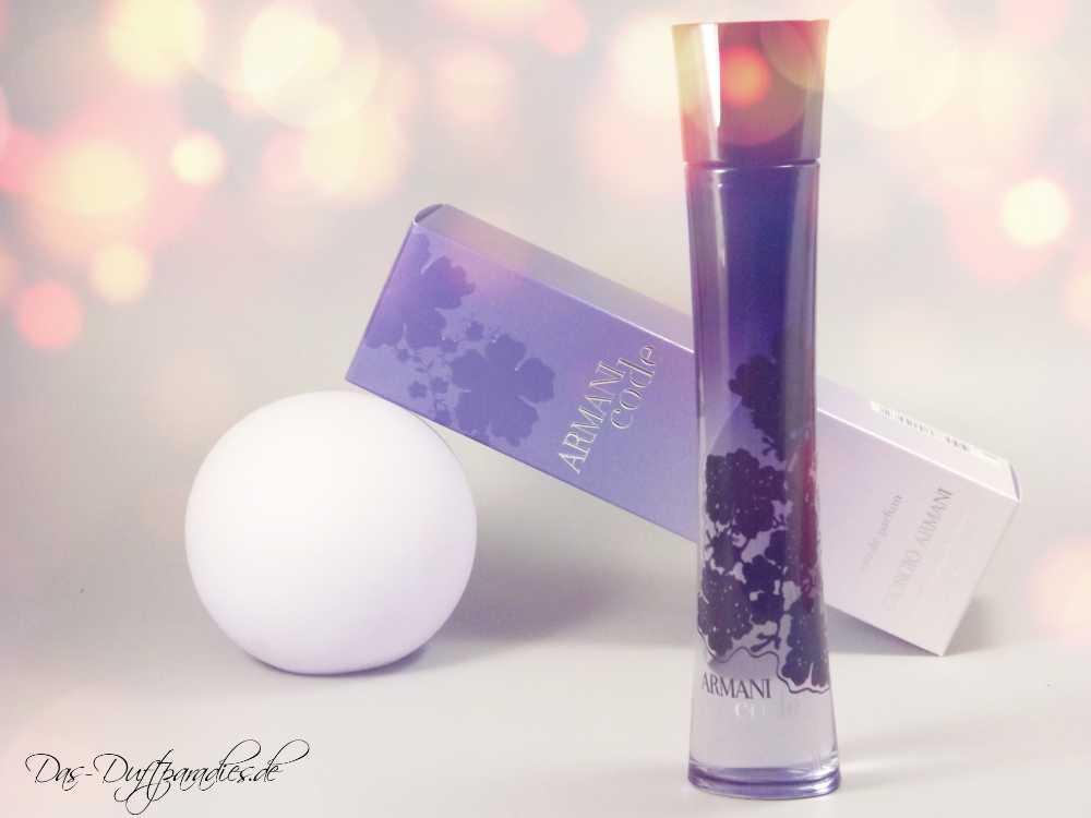 Parfümklassiker für Damen: Giorgio Armani Code Femme EdP