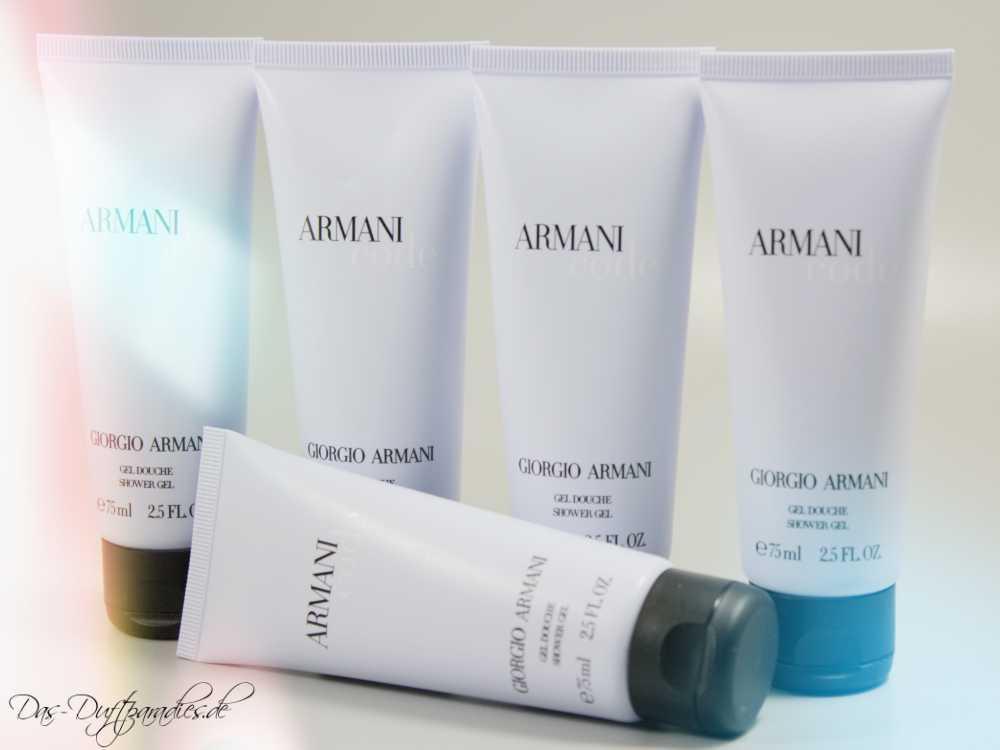 Passend zum Parfüm: Giorgio Armani Code Shower Gel