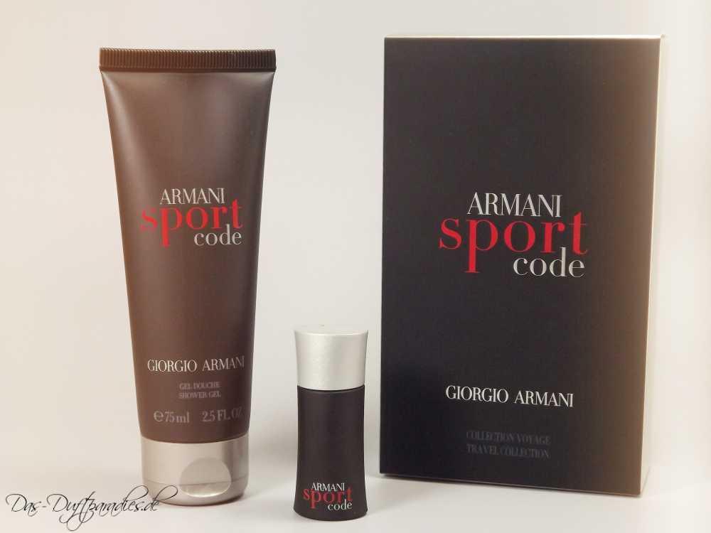 Herrenduft Giorgio Armani Code Sport im Set