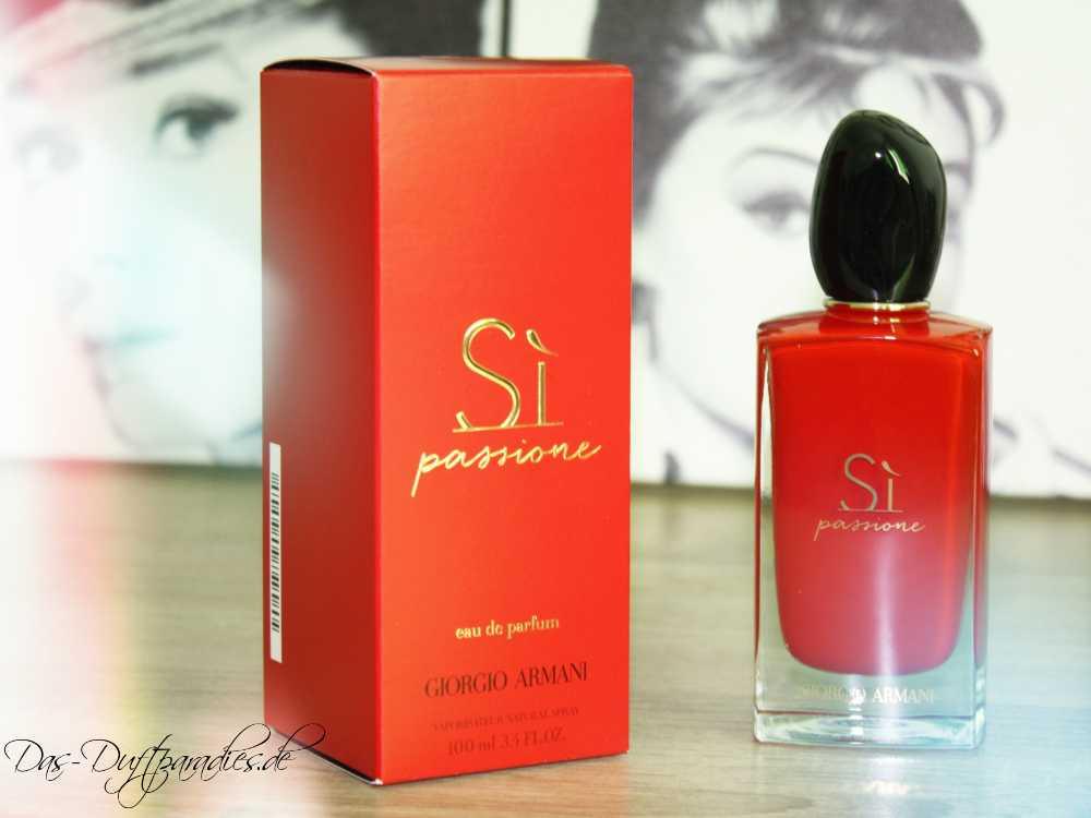 Tolles Damenparfüm: Giorgio Armani Si Passione Eau de Parfum