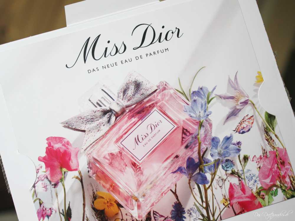Miss Dior EdP Parfümprobe & Duftbeschreibung