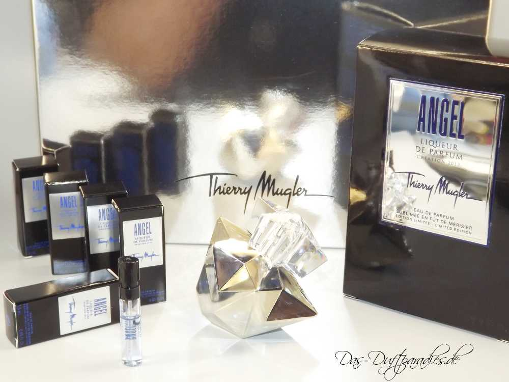 Mugler Angel Limited Edition - Parfümproben und Flakon